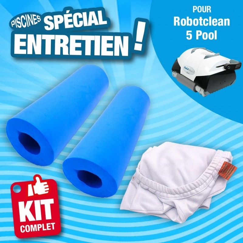 feeilty Lot de 2 Sacs de Nettoyage en Nylon pour Piscine Polaris 360 380