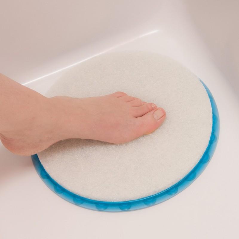tapis rond massage bain / douche