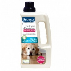 nettoyant desinfectant surodorant animal 1litre