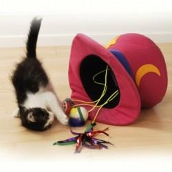 chapeau magique pour chats
