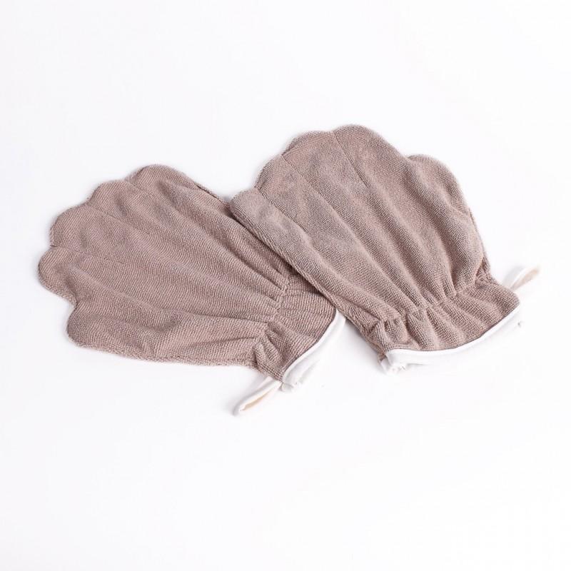 gants microfibres pour chien (lot de 2)