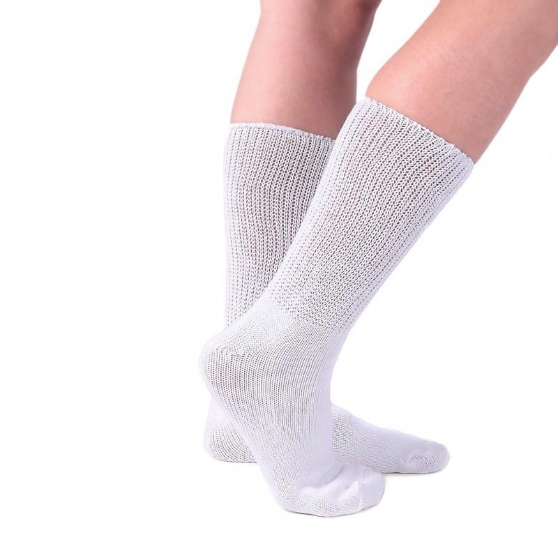 chaussettes talon gel pour pieds sensibles pour homme 41/44