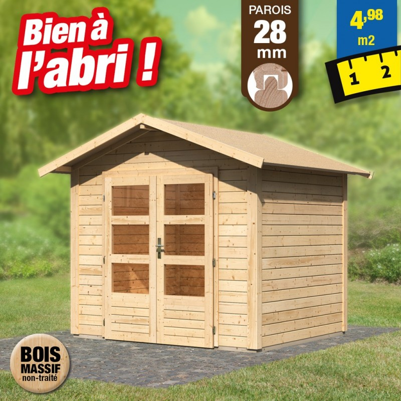 outiror Abri jardin Talkau3 brut 207601210001
