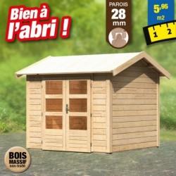 outiror Abri jardin Tastrup3 brut 207601210011