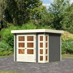 outiror Abri jardin Kerko3 gris terre 207601210023 10