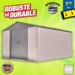 outiror Abri metal WoodTouch 7 15m 207601210048
