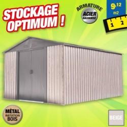 outiror Abri metal WoodTouch 9 12m 207601210049