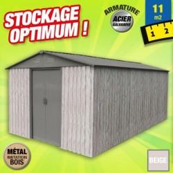 outiror Abri metal WoodTouch 11m 207601210050