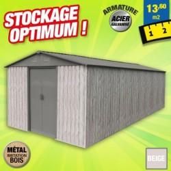 outiror Abri metal WoodTouch 13 6m 207601210051