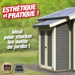 outiror Armoire modulaire eco Gris terre 207601210008