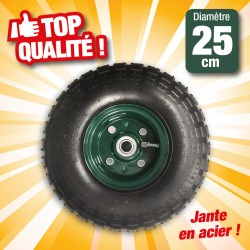 roue gonflable