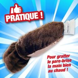 MOUFLE GRATTOIR DE PARE BRISE GRAND CONFORT