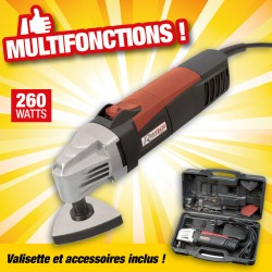 PONCEUSE MULTI-FONCTIONS 260W