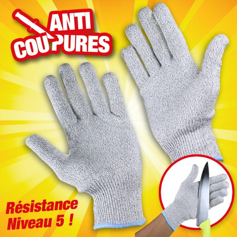 Paire de gants anti coupure - Gant anti coupure cuisine ...