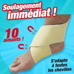 bandage cheville magnétique