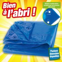 "Bache 90gr/m² 2x3m bleue ""ecoplatinium"""