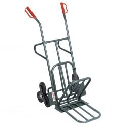 chariot diable 6 roues bavette rabattable. Black Bedroom Furniture Sets. Home Design Ideas