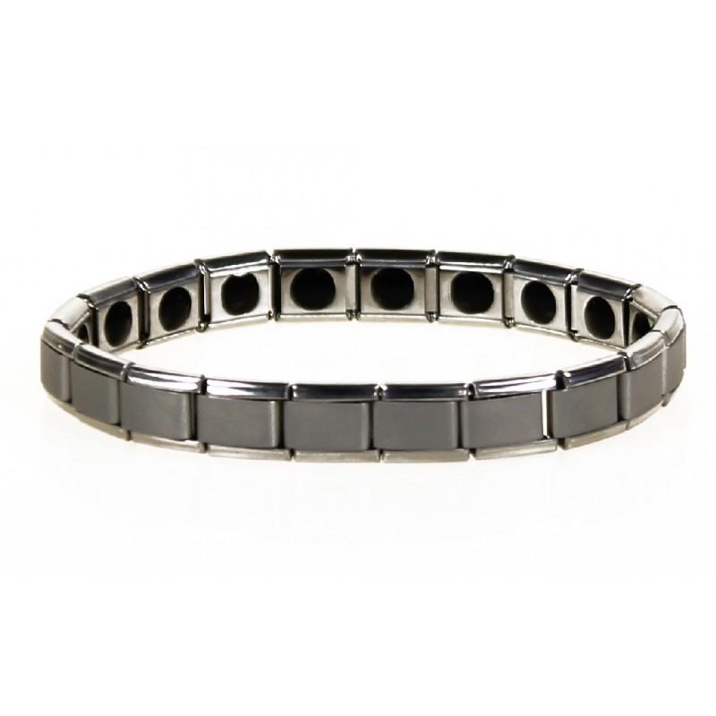 Bracelet Germanium extensible acier