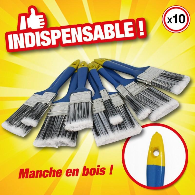 outiror-jeu-de-10-pinceaux-de-peinture-kinzo-manche-bois-871125279438
