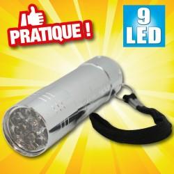 outiror : lampe de poche 9 leds