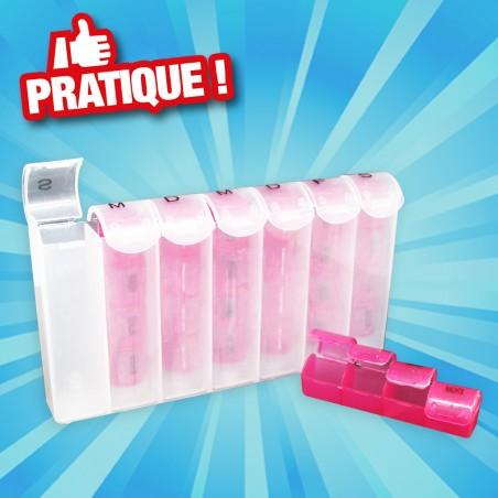 outiror : boite a pilules 7 jours plastique