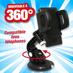 outiror :support telephone universel allride tournant 360