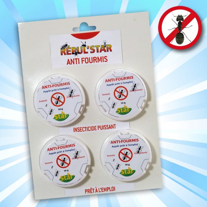outiror : anti fourmis lot 4 boites 10g