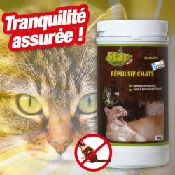 outiror : repulsif chats granules 400g