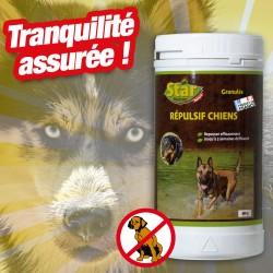 outiror : repulsif chiens granules 400g