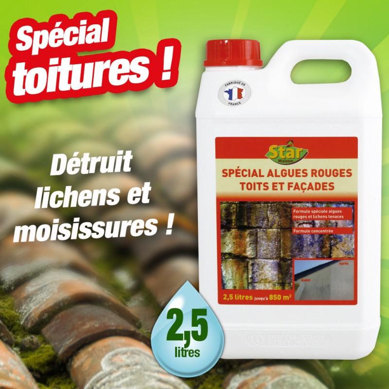 outiror : anti-algues-rouges-facades-toitures-terrasse-concentre-2-5l