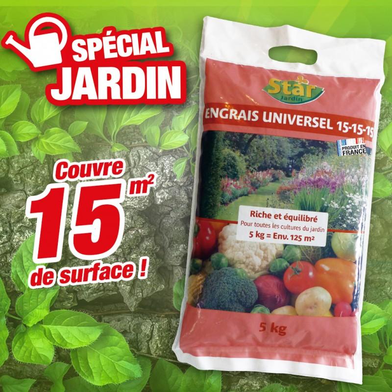 outiror : engrais universel  spécial jardin
