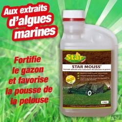 outiror star mousse pelouse au extraits d'algues marines