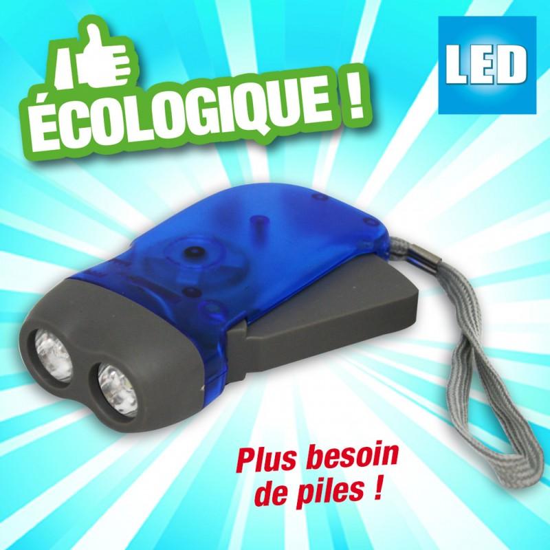 outiror : lampe de poche a led avec dynamo