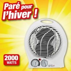 outiror radiateur soufflant 2000 watts 76010180007