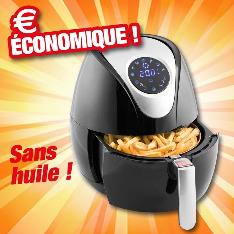 outiror friteuse air chaud sans huile 3 6 litres 77010180008