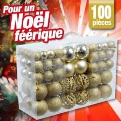 outiror kit complet boules de noel 76010180010
