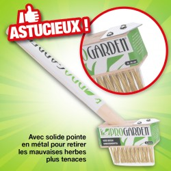 outiror - brosse mauvaises herbes longueur 36 cm
