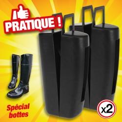 outiror - Embauchoirs à bottes en plastique - lot de 2 pièces