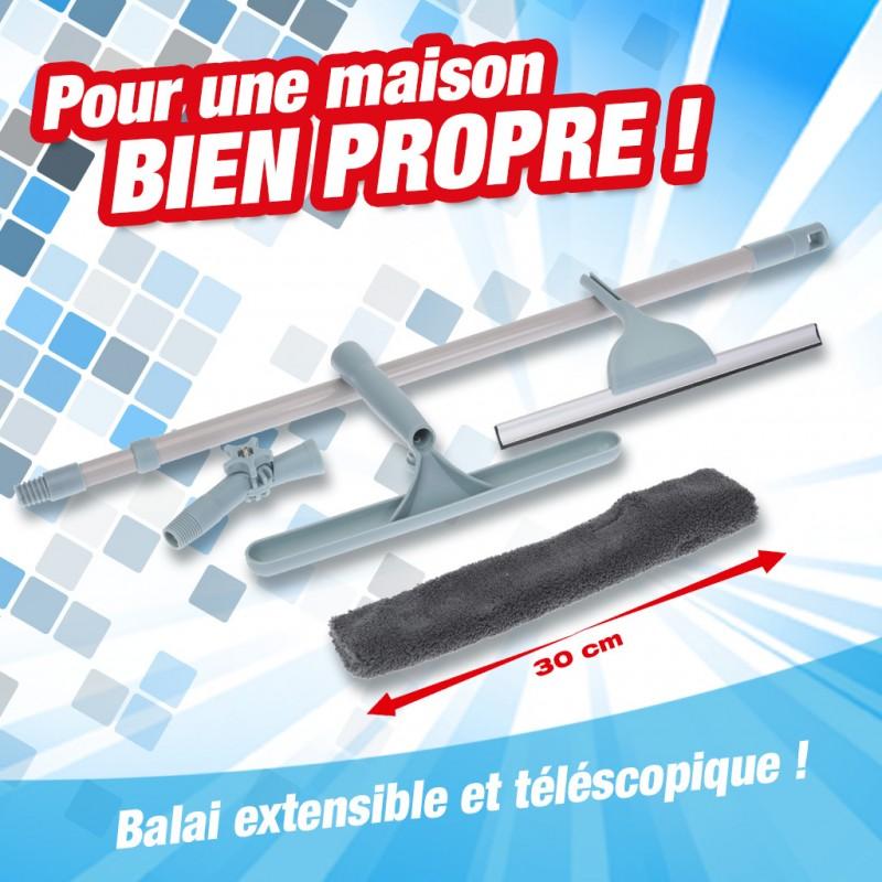 outiror - raclette telescopique 30cm