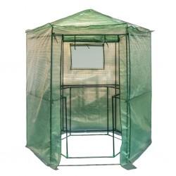 outiror - serre hexagonale 10x100x220cm