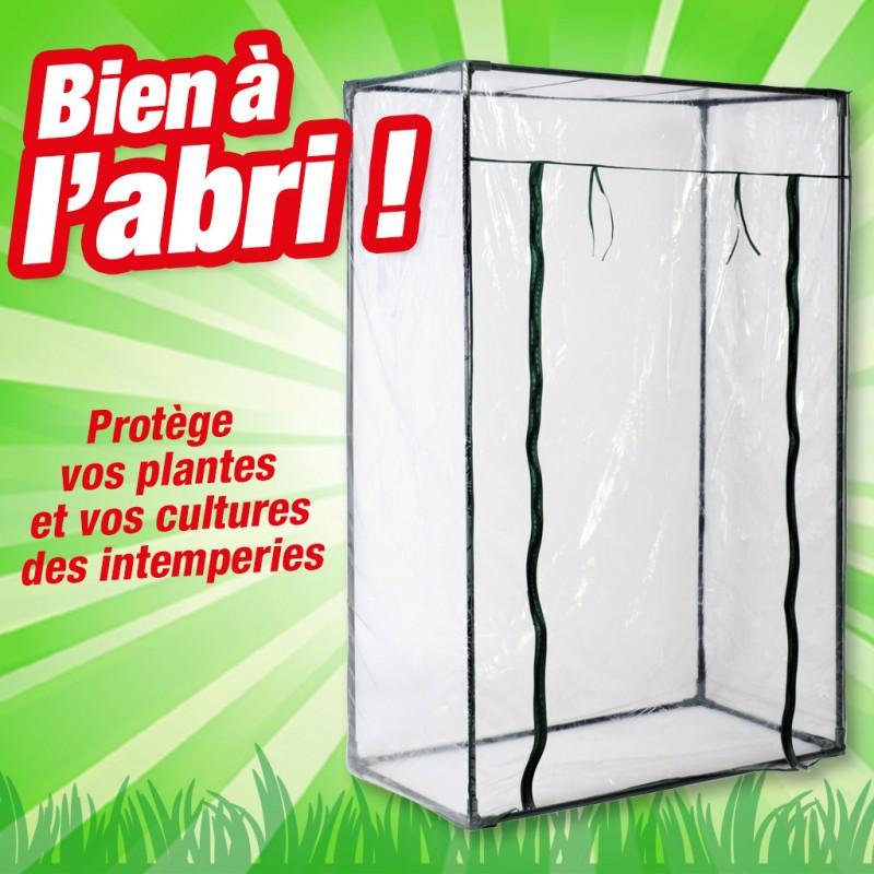 outiror - serre polyvinyl 50x100x150cm