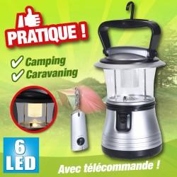 outiror - lampe de camping - 6 led 3 watts