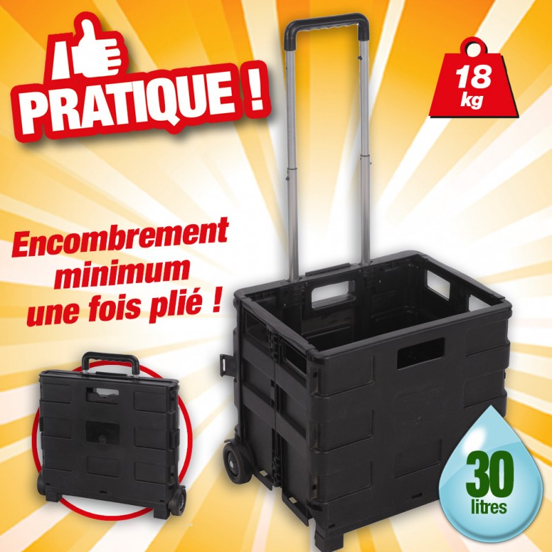 outiror - chariot caisson pliable 30l