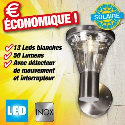 outiror - lampe solaire murale