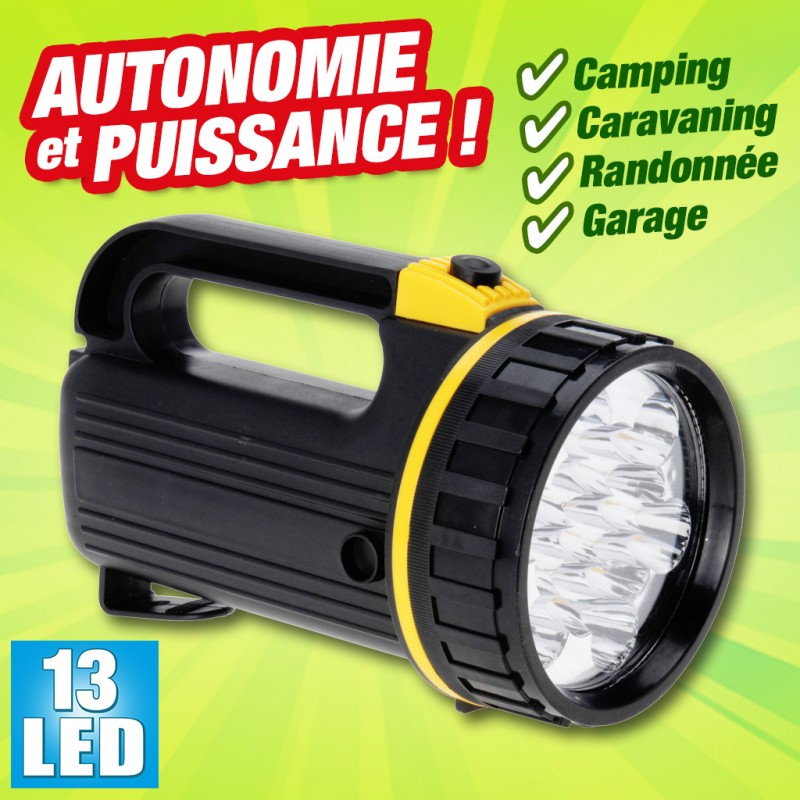 outiror - lampe de camping 13 leds