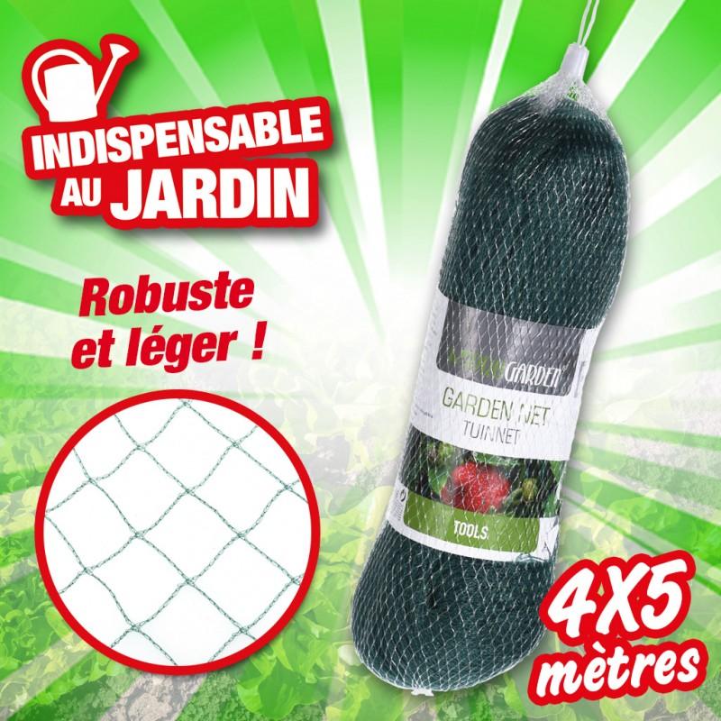 outiror - filet de jardin 4x5m