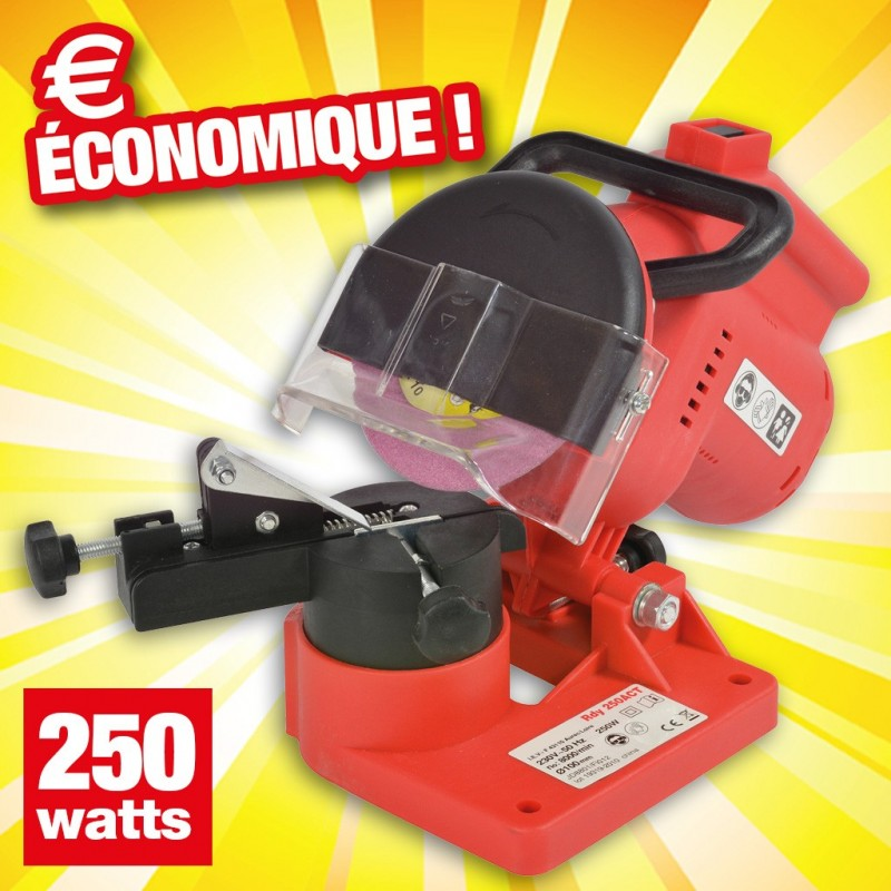 outiror affute chaine tronconneuse 250w 135011180013