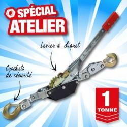 outiror treuil manuel tire fort 1t cable acier 1 8m 135011180021