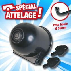 outiror cache boule attelage plastique dia 50mm plus 2 cles 134011180033