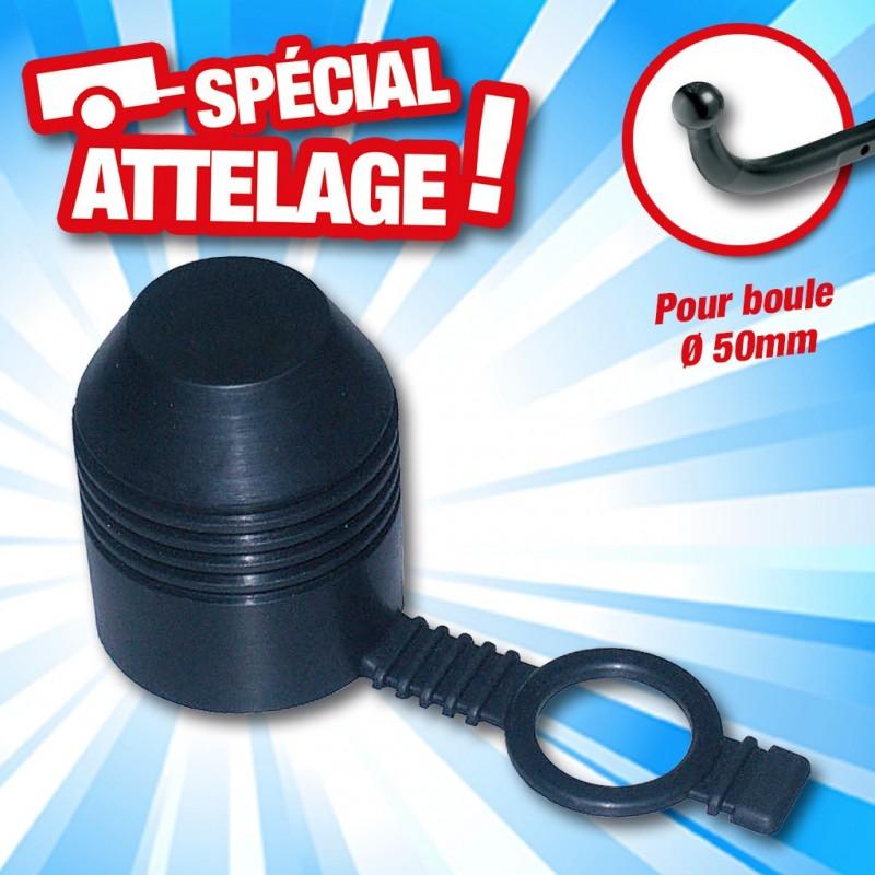 outiror cache boule attelage caoutchouc dia 50mm antivol 134011180034